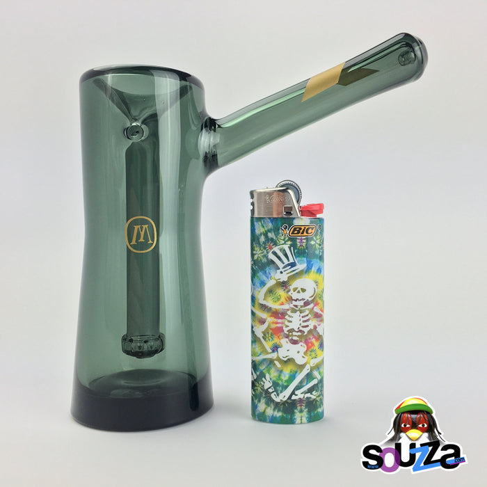 MARLEY NATURAL™  Smoked Glass Bubbler Size Comparison