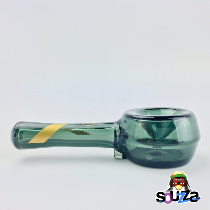 MARLEY NATURAL™ Smoked Glass Hand Pipe Side View