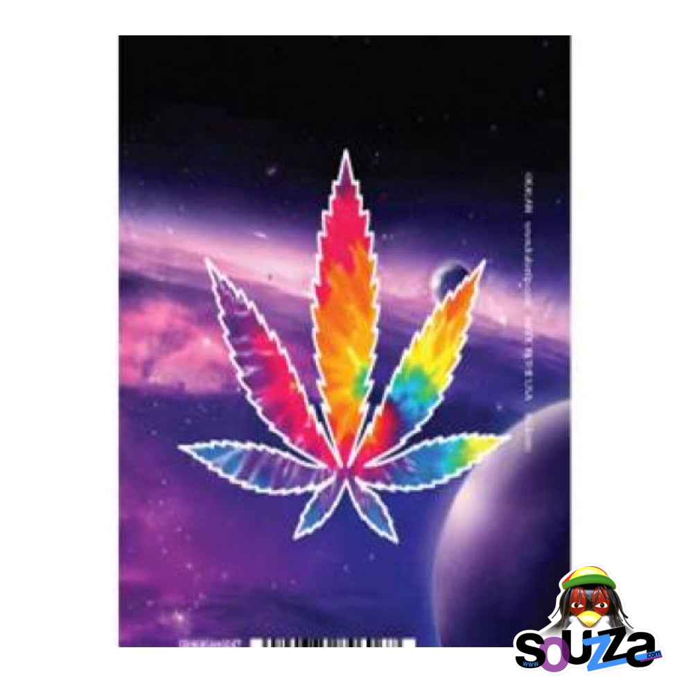 Pot Leaf in Space Magnet