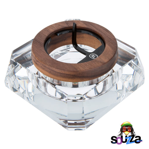 MARLEY NATURAL™ Crystal Ashtray Side View
