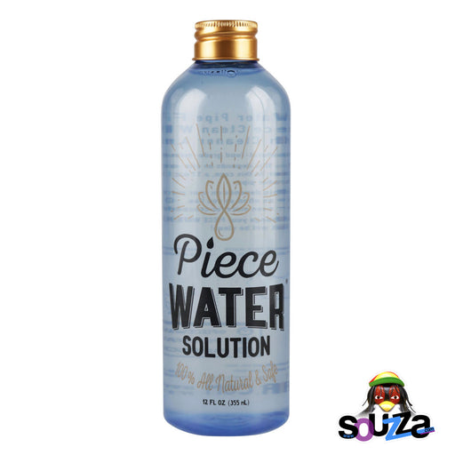 Piece Water Solution 12 ounce bottle