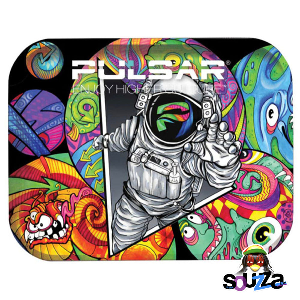 "Pulsar Metal Rolling Tray-11""x7"" 