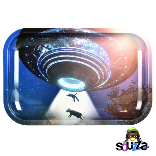 Pulsar Take Me To Your Leader Metal Rolling Tray