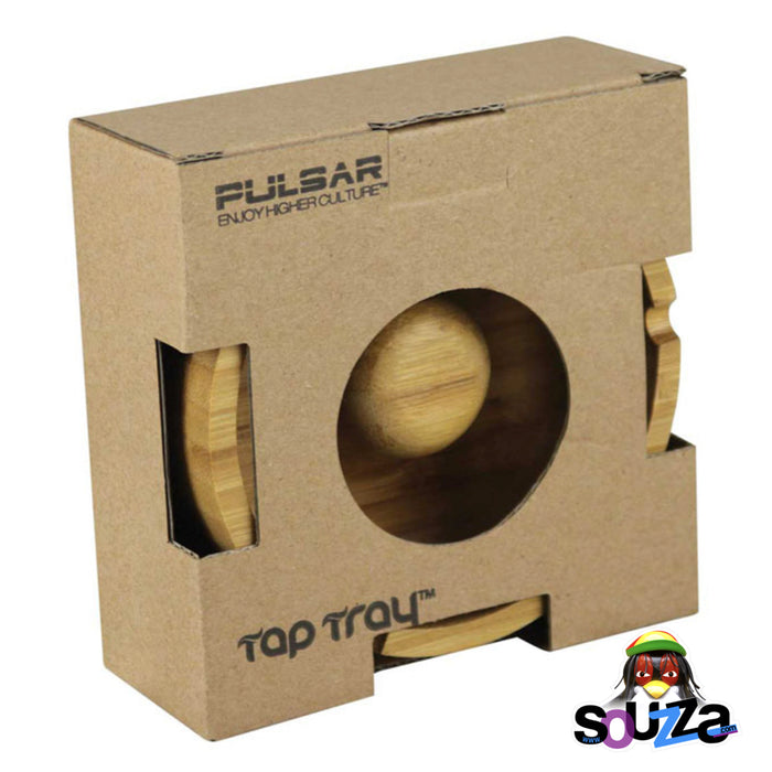 Pulsar Tap Tray Basic Round Ashtray | 4"