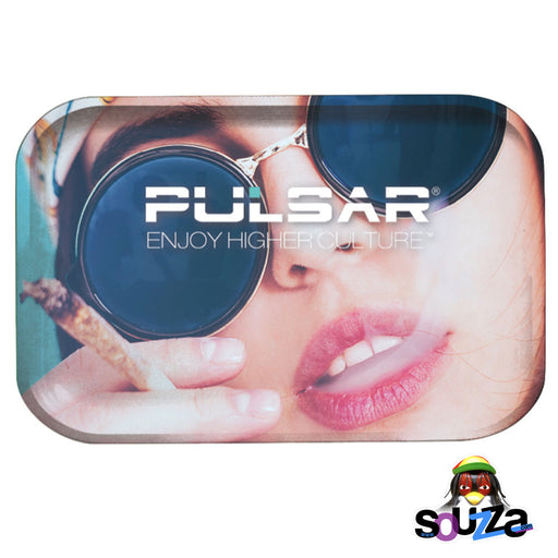 Pulsar Face Metal Rolling Tray - Multiple Sizes