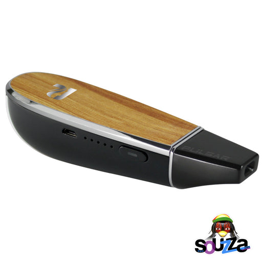Pulsar Flow Herb Vaporizer Wood Grain Lid
