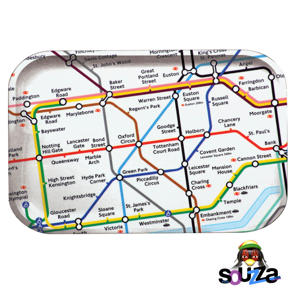 Pulsar London Underground Metal Rolling Tray