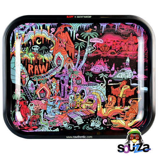 RAW x Ghostshrimp Artist Series 2 Metal Rolling Tray