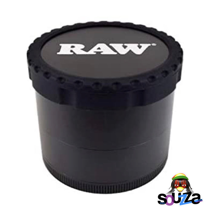 "Raw Life Modular Rebuildable Grinder 2.5"" - Black Assembled"