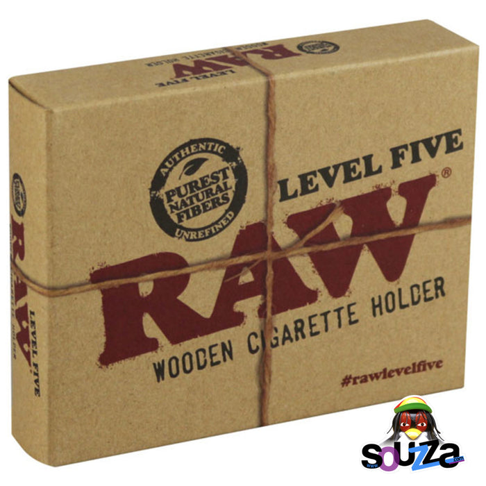 Raw Wooden Cone Holder - Level 5 box