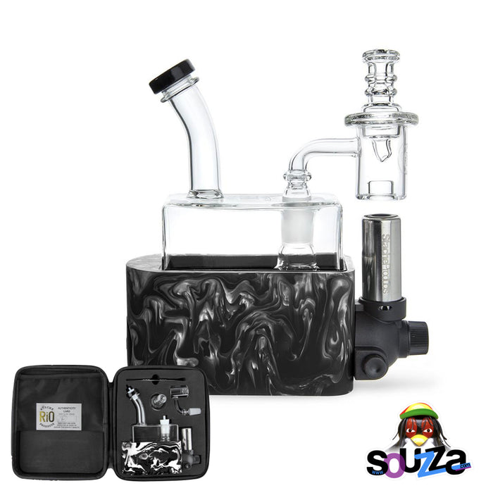 Rig In One (RIO) by Stache Products - Black mix with carrying case