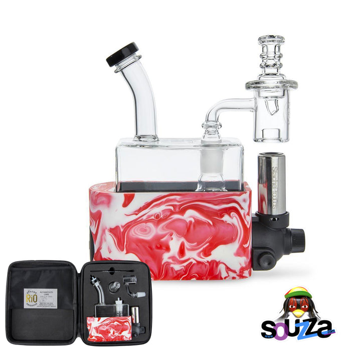 Rig In One (RIO) by Stache Products - Pink mix with carrying case