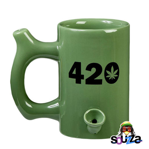 Roast and Toast Mug Pipe - Green 420
