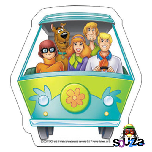 "Scooby Doo Mystery Machine Sticker - 4.5""x4.8"""