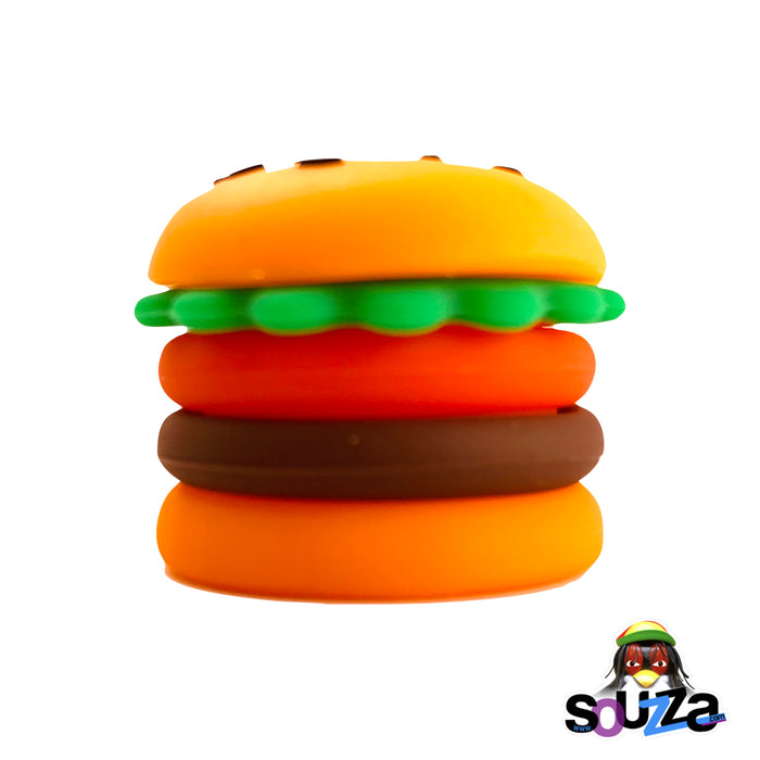 Silicone Hamburger Storage Container - 5ml  - Side View