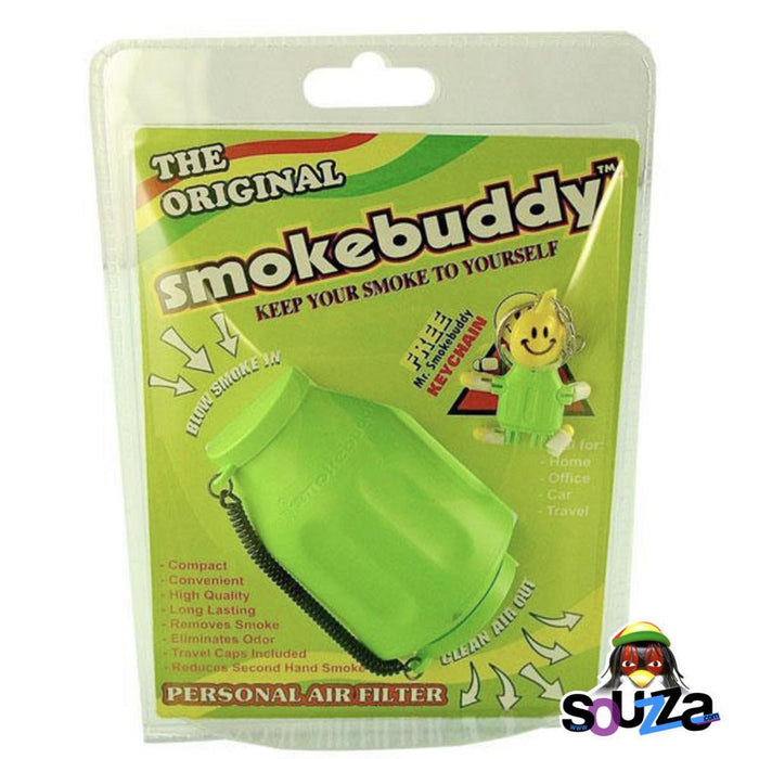 Smokebuddy Original Personal Air Filter - Lime Green