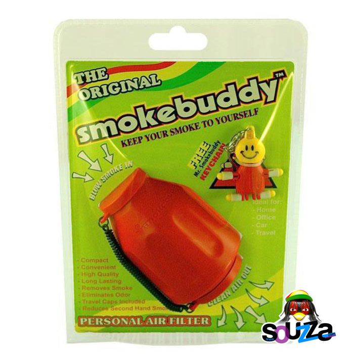 Smokebuddy Original Personal Air Filter - Red