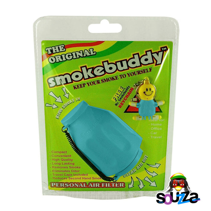 Smokebuddy Original Personal Air Filter - Teal