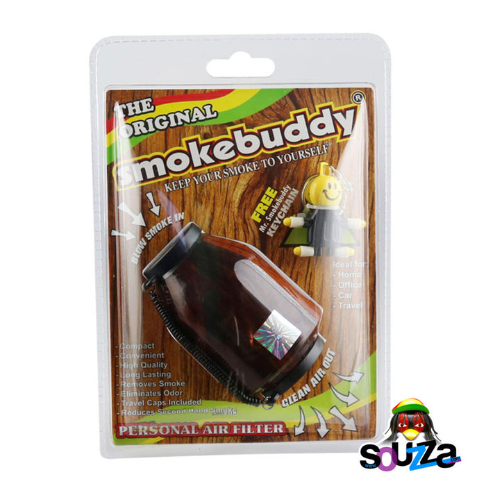 Smokebuddy Original Personal Air Filter - Wood Grain