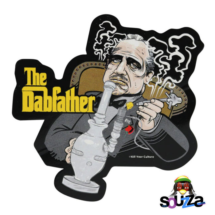 "The Dabfather Vinyl Sticker - 4""x4.25"""
