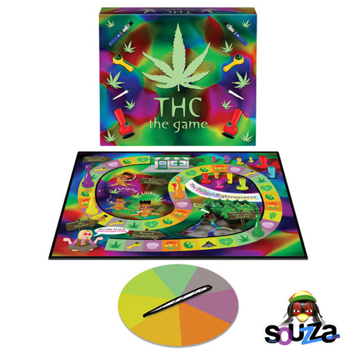 The THC Game - Open Board and Spinner