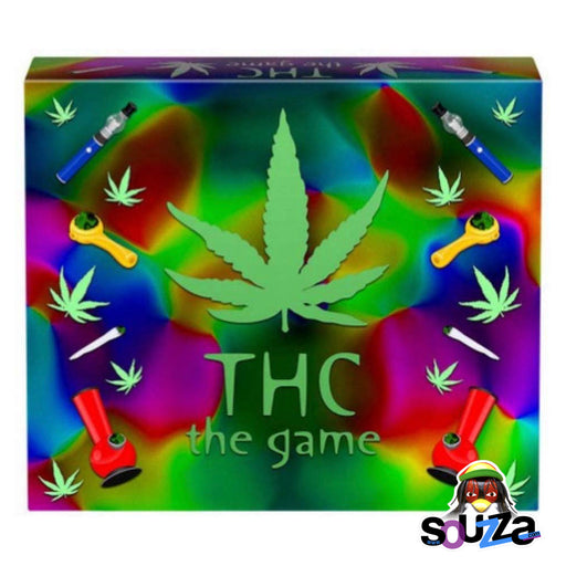 The THC Game Box Close Up