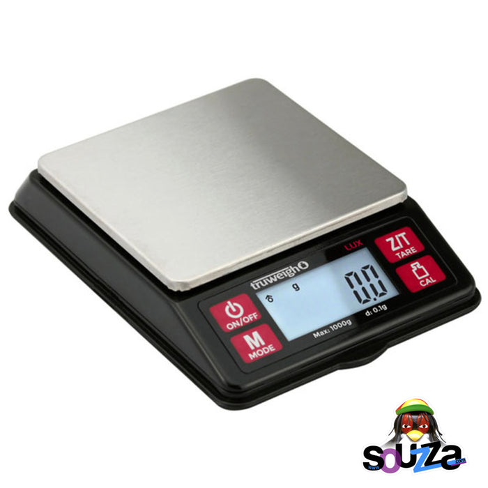 Truweigh Lux Digital Mini Scale - 1000g x 0.1g / Black Table view