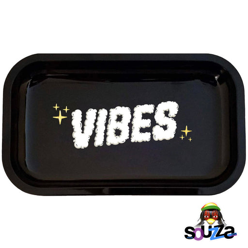 VIBES Clouds of Smoke Rolling Tray -  Medium Size