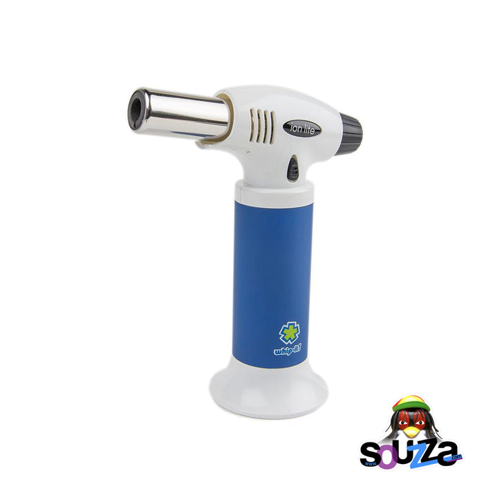 Ion Lite Butane Torch by Whip-It! -  Blue and White