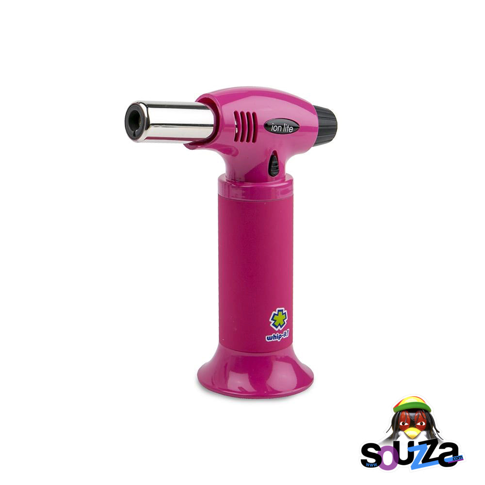 Ion Lite Butane Torch by Whip-It! - Pink