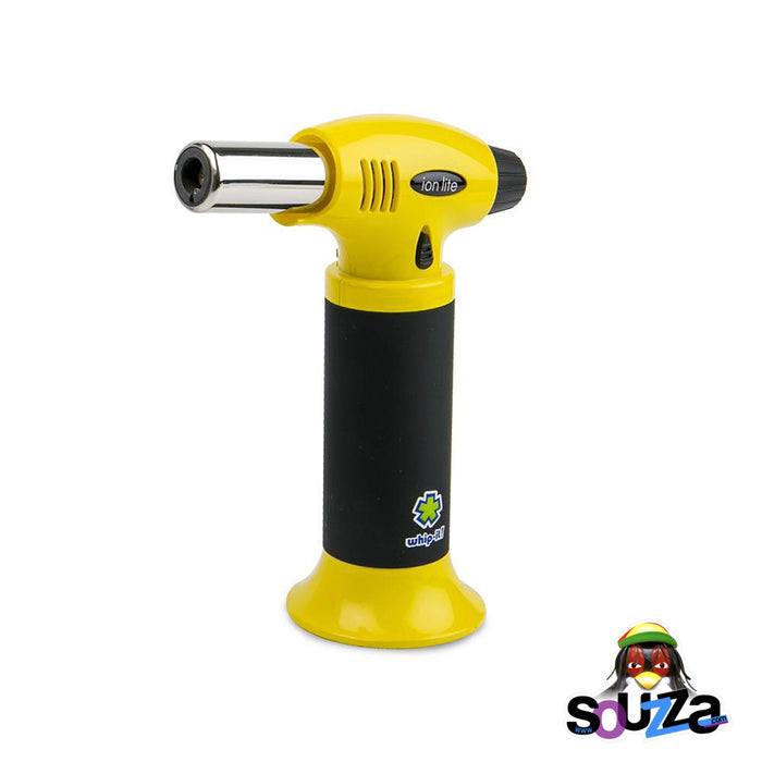 Ion Lite Butane Torch by Whip-It! - Yellow and Black