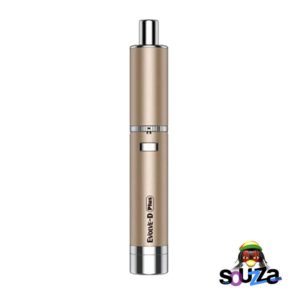 Yocan Evolve-D Plus Dry Herb Pen Vaporizer | 1100mAh - Champagne Gold