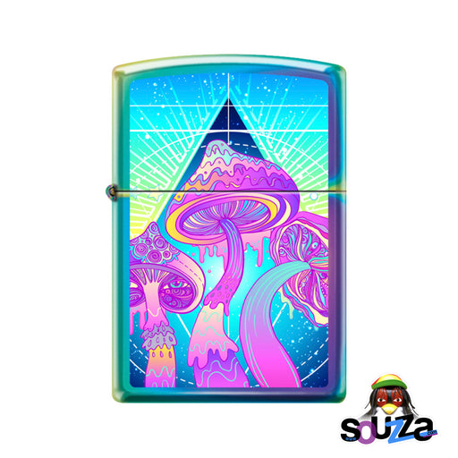 Zippo Lighter - Melting Shrooms - Multicolor