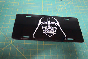 Star Wars Darth Vader  License Plate