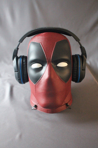 Deadpool life size HD Head / Bust 3D printed