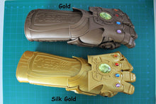 Load image into Gallery viewer, Infinity Gauntlet Silk Gold and Red  / Infinity Gem Stones / Endgame / Infinity War / Thanos