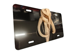 Load image into Gallery viewer, Mythosaur Skull 3D The Mandalorian Star Wars Custom License Plate
