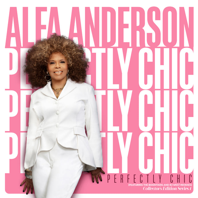 Alfa Anderson - Perfectly Chic (Collector's Edition: Pink Vinyl) + Download Card
