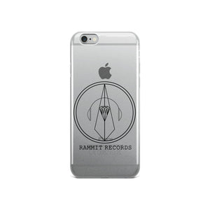 Rammit Logo Clear iPhone Case