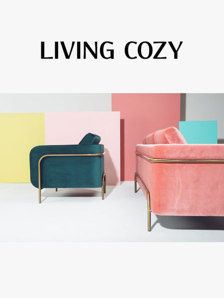 Living Cozy Emblem Furniture Bed Sofa and Chair