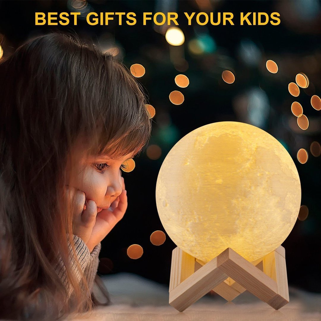 Galactic™ Mystical 3D Moon Lamp