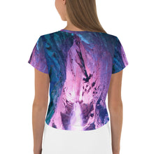 Load image into Gallery viewer, Cave Falls Crop Tee