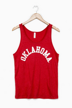 Load image into Gallery viewer, Oklahoma Flocked Tank