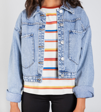 Load image into Gallery viewer, Sadie Denim Jacket