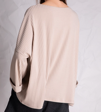 Load image into Gallery viewer, V-Neck Ribbed Top