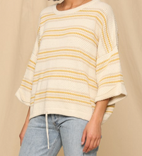 Load image into Gallery viewer, Oversized Striped Sweater