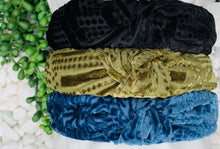 Load image into Gallery viewer, Velvet Burnout Headband