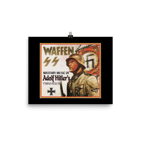 Waffen SS Poster - True crime shop