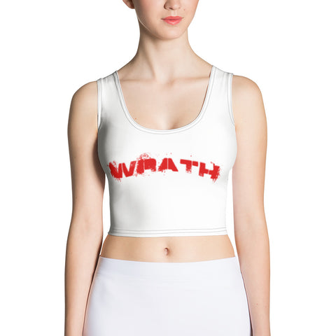 Wrath Crop Top - True crime shop