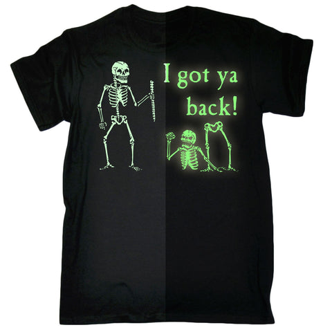 I Got Ya Back Glow In The Dark T Shirt - True crime shop